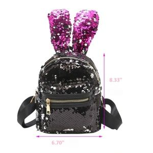 🆕Soho Charming Dots Sequins Mini Backpack